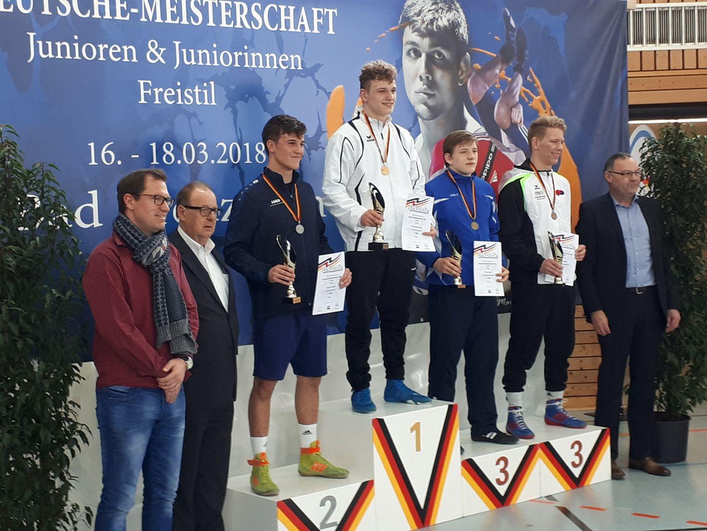 Deutsche Einzelmeisterschaft der Junioren im Freistil 2018